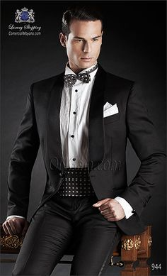 Traje de novio negro 944 ONGala Wedding suit