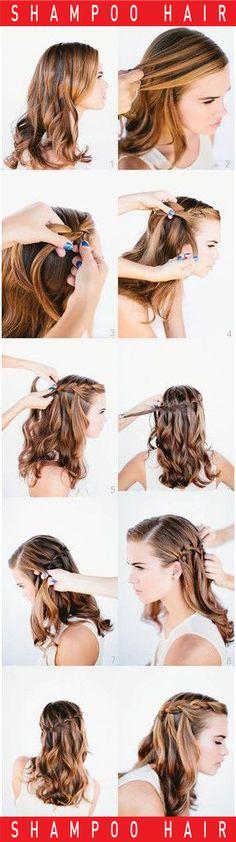 벼머리 스타일링 하는 방법입니다.