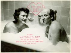 "Possibly the most charming reason for a Valentine's Day card ever: ""Valentine cards had become a tradition of ours, born of the fact that we could never get ourselves organized in time to send out Christmas cards."" - Julia Child, My Life in France."