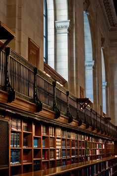 New York Public Library. Could also go on Favorite Places and Spaces.