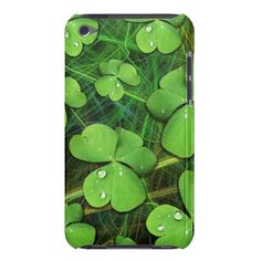 #Green #Shamrock St #Patrick's #Day #iPod #Touch #Case     http://www.zazzle.com/green_shamrock_st_patricks_day_ipod_touch_case-179871962894984115