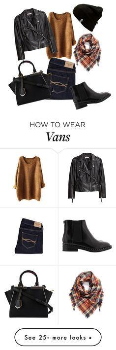"""""""Fall ready🍂🍁🎃"""" by queenlionheart on Polyvore featuring BP., Vans, Abercrombie & Fitch, H&M and Fendi"""