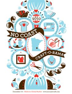 NoCoast Craft-o-Rama  Dec. 2 & 3, 2011 Mid-Town Global Market. Not your mother's craft show!