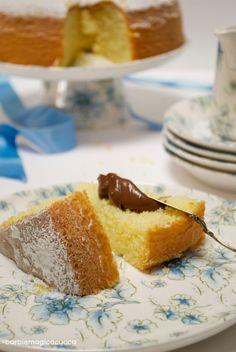 Torta al latte caldo – hot milk sponge cake | Barbie magica cuoca - blog di cucina
