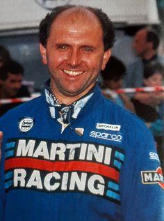 Team Lancia...Rino Buschiazzo..🇮🇹 Lancia Delta, Baseball Cards, Sports, Hs Sports, Sport
