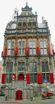 Den Haag former cityhall