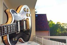 My First Handmade Guitar. AMG Saucy Beauty - Gibson Les Paul Style Guitar. Follow me on YouTube Channel: https://www.youtube.com/user/ArturMihalas