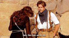 steventrevor:The Mummy dir. The Mummy Film, The Mummy 3, Mummy Movie, Rachel Weisz The Mummy, Adam Sanders, Brendan Fraser The Mummy, Couples Images, Universal Pictures, Old Movies