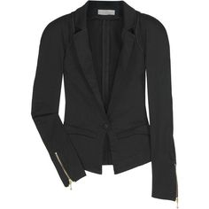 Preen Line Bianca cotton-blend blazer (£213) found on Polyvore