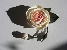 very pretty rose pin...Camille Young