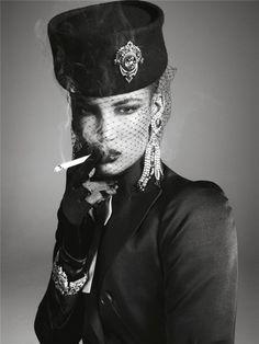 Grace Jones by Steven Meisel