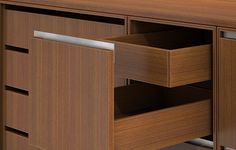 GL™ Casegoods – Credenza Drawer detail by Decca Contract, http://deccacontract.com/casegoods/gl.php