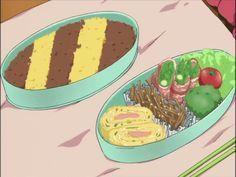 Anime Bento, Anime Manga Food, Food Nom, ̄ ゞAnime Food, Anime Recipe, Itadakimasu Anime, Making Anime, Food Meow, Delicious Anime