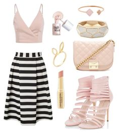"""""""Cute 'n classy"""" by natasha1234 ❤ liked on Polyvore featuring Forever 21, Lipsy, Jacquie Aiche, Michael Kors, Benefit and Napoleon Perdis"""
