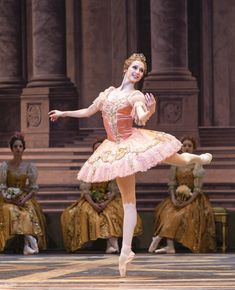 Svetlana Zakharova as Princess Aurora in The Sleeping Beauty during Bolshoi's London Season at Royal Opera House (July – August 2013). Photo Foteini Christofilopoulou