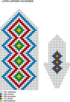 Neulo hurmaavat Lapin lapaset | ET Mittens Pattern, Knit Mittens, Knitted Gloves, Crochet Blanket Patterns, Knitting Socks, Hand Knitting, Knit Art, Crochet Art, Wrist Warmers