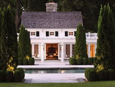 now this is a poolhouse!