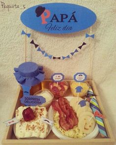#diadelpadre #desayuno #merienda #psicolabis #sorpresa #regalo #papa #abuelo #desayunosorpresa #carupano #sucre #venezuela Breakfast On The Go, Breakfast Items, Best Breakfast, Simple Gifts, Love Gifts, Gifts For Boys, Diy Valentine Gifts For Boyfriend, Boyfriend Gifts, Ideas Para Fiestas