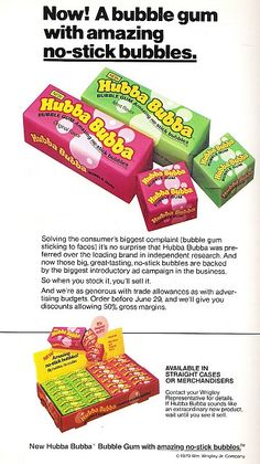 Hubba Bubba by traci*s retro, via Flickr