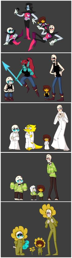 Undertale Fasion by Mutil8tor
