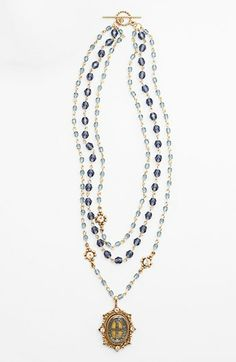 Virgins Saints & Angels 'Magdalena San Benito' Necklace (Nordstrom Exclusive) available at #Nordstrom
