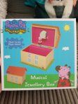 peppa pig musical jewellery box 3.99 Home Bargains