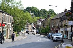 Whaley Bridge main street. A lovely little town in the High Peak District.