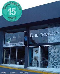 Duartee&Co Pedregal.  Centro Comercial Sta Teresa Periferico Sur 4020 Local 12A Jardines del Pedregal México DF CP 0900   Tel.: (55) 5568 1239