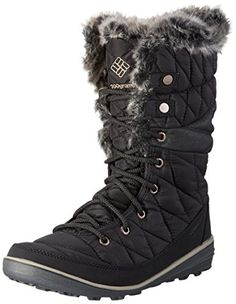 Columbia Heavenly OmniHeat Snow Boot Winter Shoe  BlackKettle  Womens  85 *** Check this awesome product by going to the link at the image.