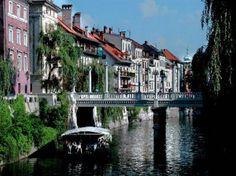 Cobblers Bridge, Ljubljana, Slovenia