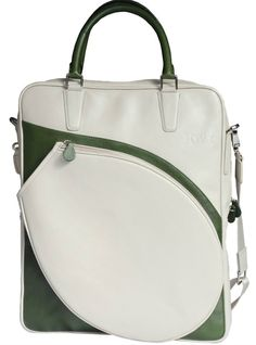 Slam Glam - Joya Ar-T Leather Tennis Tote Bag, $239.00. Genuine Calf Skin Leather!  Beautiful!
