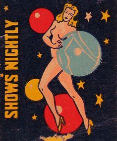 SimplySassy: Vintage Matchbook Covers