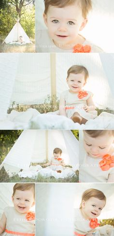 baby photography, 18 month old photography, outdoor baby photography, bright, fun, teepee, infant photography, baby pictures