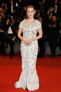 Jessica Chastain - The Dreamiest Dresses on the 2017 Cannes Red Carpet - Photos