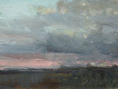"End of Day by Simon Addyman Oil ~ 6"" x 8"""