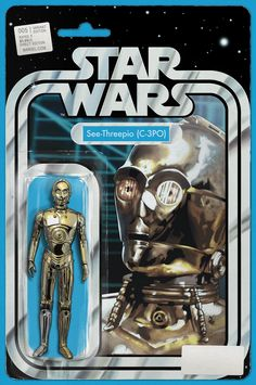 Star Wars #5 Action Figure Variant Cover by John Tyler Christopher