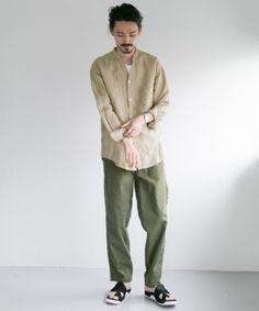 Japan Fashion, Look Fashion, Korean Fashion, Mens Fashion, Urban Minimalist Fashion, J Crew Men, Colored Pants, Japanese Outfits, Character Outfits