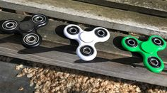 The hype of 2017.An ideal gadget to reduce stress! From now on no more nail-biting or pen-clicking, just spin it away. The Fidget Spinner is a small device which will spin between your fingers. There are plenty of tricks possible (after some practice). Check it out on Youtube!