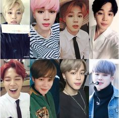 Jimin looks amazing no matter what hair color he has