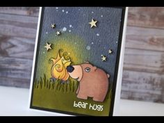 Tracy Mae Design: Distress Ink Background - Paper Smooches Card