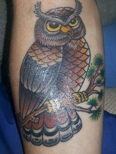 Gufo tattoo