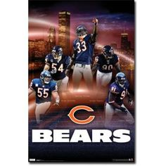 Image Detail for - Home / Chicago Bears Defense Poster