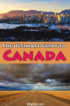 HUGE travel guide covering the best of every corner of Canada. Where to go, what to see and do, tips on accommodation and tours.you'll find it all in this guide Cool Places To Visit, Places To Travel, Travel Destinations, Travel Pics, Travel Articles, Visit Canada, Canada Trip, Vancouver Travel, Canadian Travel
