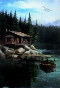 Build a log cabin in Alaska and live in it for a year.