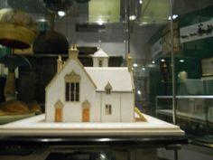 Model of John Cowanes Hospital as alms house.  Taken by Julia