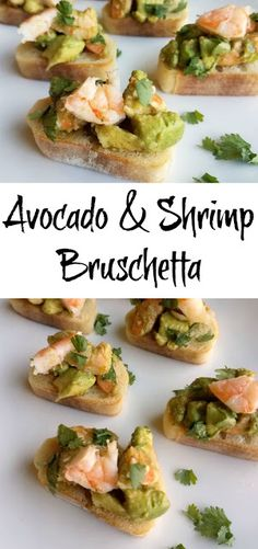 Cooking With Carlee: Avocado and Shrimp Bruschetta #FoodBloggers4TX