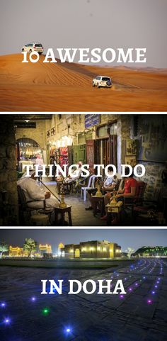 10 Awesome Things to Do in Doha - Kids World Travel Guide 10 Awesome Things to do in Doha Qatar New Travel, Travel Goals, Travel With Kids, Asia Travel, Family Travel, World Travel Guide, Travel Guides, Travel Tips, Travel Hacks