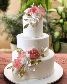 Wedding Cookies, Wedding Favors, Wedding Decorations, Wedding Souvenir, Baby Girl Birthday Cake, Wedding Cake Fresh Flowers, Big Cakes, Wedding Cake Designs, Wedding Art