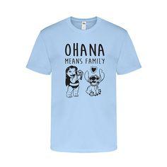 Ohana Means Family T-Shirt Family TShirt  by PlainsAndPrintsShop