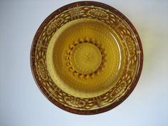 Grapponia brown glass bowls designed by Nanny Still for Riihimäen lasi